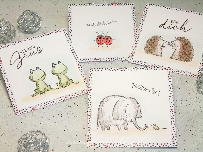 Grüße-Grußkarte-Danke-Igel-Frosch-Elefant-Maus-Love-You-Lots-Stampinblog-Stampin