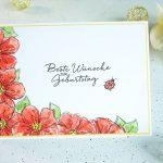 Blumige Geburtstagswünsche mit Penned & Painted - Teil 2