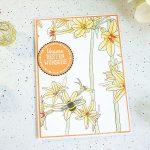 Beste Wünsche mit dem Designerpapier Kreativ Koloriert - Teil 2