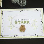 Geburtstagskarte und Geschenktüte mit Dies & Das