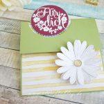 Flap Fold Karte zum Geburtstag