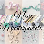 Neue Musterpakete für Designerpapier und Bänder von Stampin' UP!