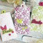 Dankeschön-Goodies aus dem DSP Florale Eleganz