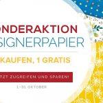 """Stampin' UP! Sonderaktion """"Designerpapier"""" - 3 kaufen, 1 gratis!"""