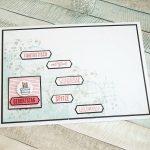 """Geburtstagskarte mit dem Stempelset """"Kurz gefasst"""""""