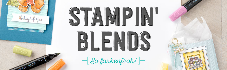 Stampin' Blends & Stempelset/Projektset Farbenfroh