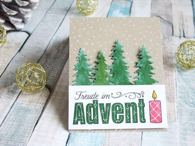 Freude im Advent - Kerzen