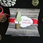 Weihnachtsbäumchen mit dem Stempelset Genial Vertikal
