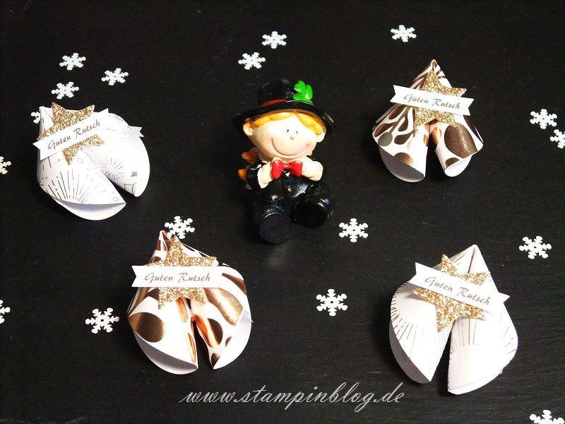 Glückskekse als Goodies/Mitbringsel zu Silvester