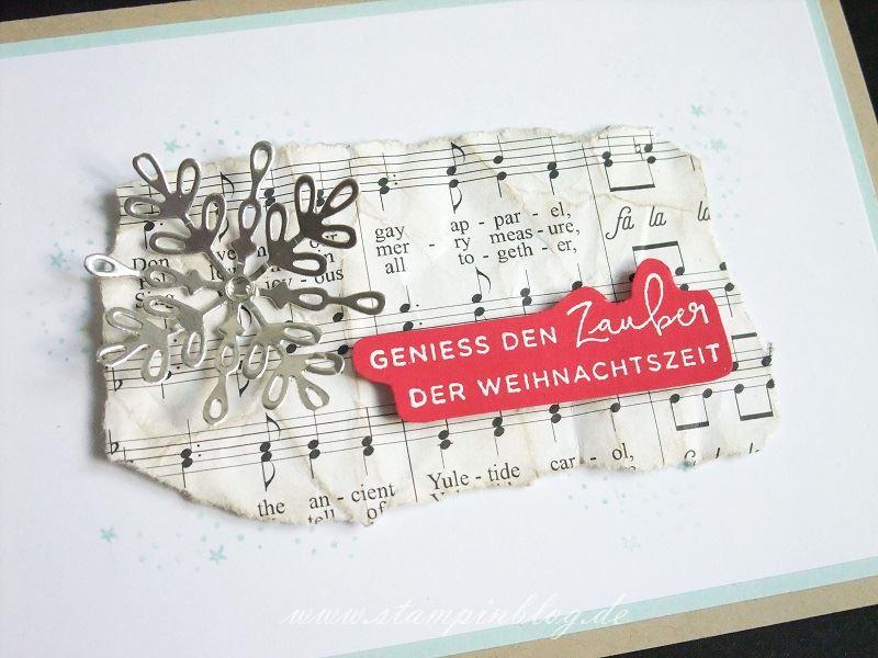 Geniess den Zauber der Weihnachtszeit | Stampinblog