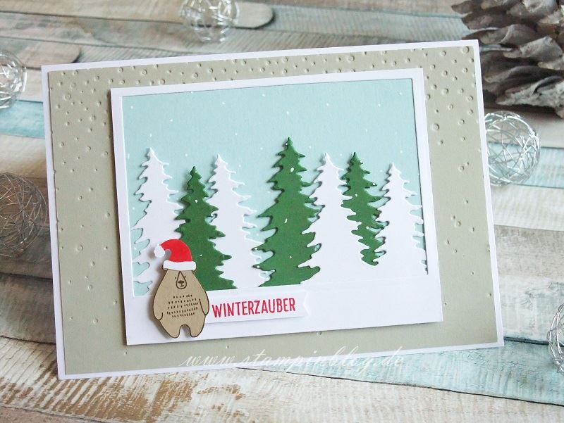 Post für dich mit Weihnachtsbär Nr. 2