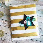 Kleine Geschenke/Goodies in der gestreiften Geschenktüte