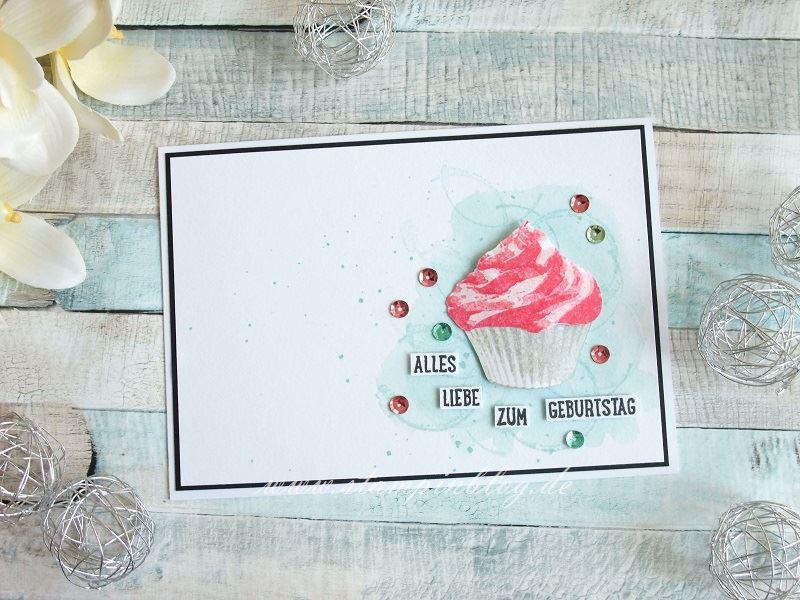 Cupcake zum Geburtstag