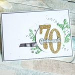 Glückwünsche zum 70. Geburtstag mit Noten