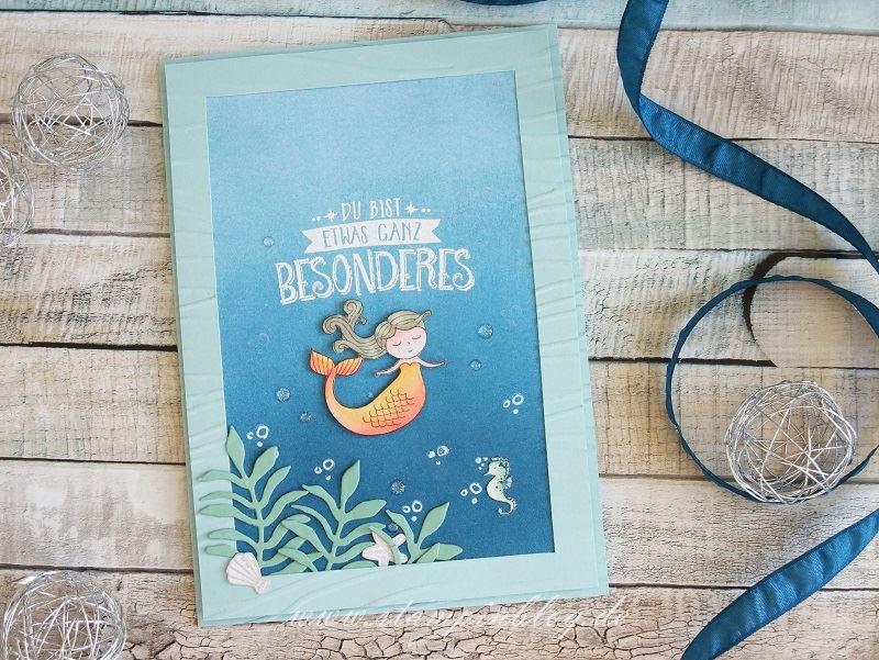 Unterwasserwelt mit Meerjungfrau