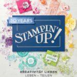 Stampin' UP! Jahreskatalog 2018/19 - neue Farben als RGB und HEX Farbcode