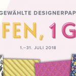 Designerpapieraktion - 3 kaufen, 1 gratis
