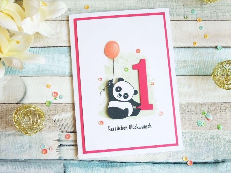 Glückwunsch zum 1. Geburtstag | Stampinblog