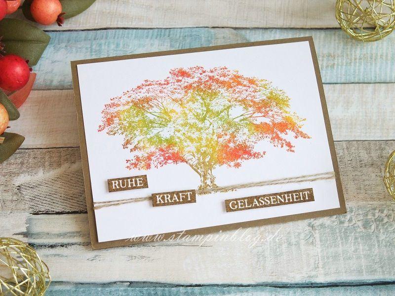 Ruhe, Kraft, Gelassenheit  im Herbstdesign