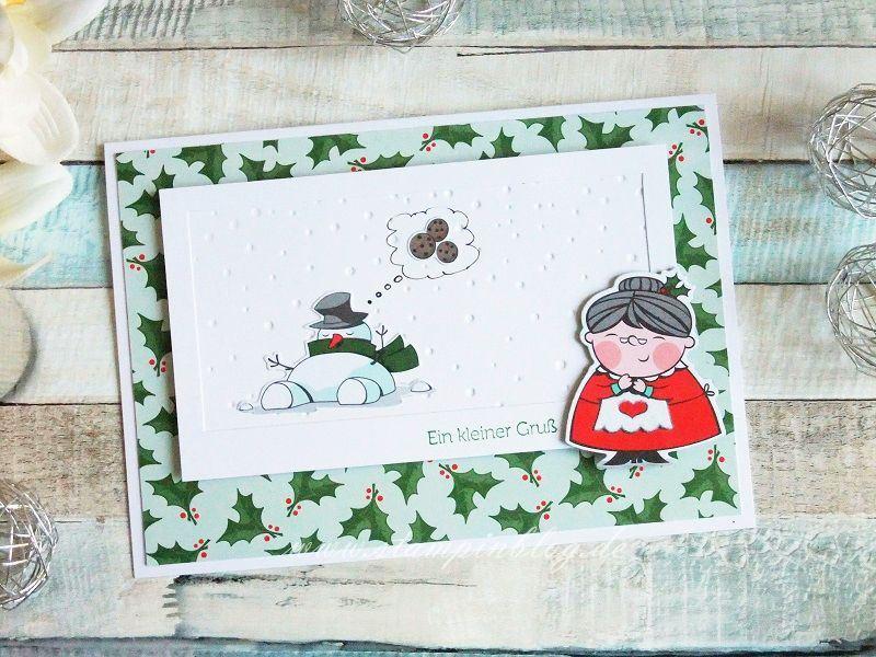 Der Schneemann und die Weihnachtskekse...