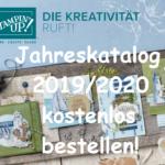 Vorbestellung des Stampin' UP! Jahreskatalog 2019/2020