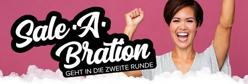Neue Sale-A-Bration Gratisprodukte ab 3. März