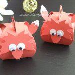 Mini-Zierschachtel Fuchs