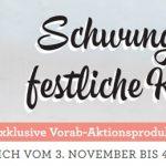 """Vielfaltspaket """"Schwungvolle und festliche Kreationen"""" - ab 3. November"""