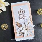 Faltbox mit Weihnachtsstern