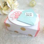 Perfekte Päckchen gefüllt mit süßen Pilzen