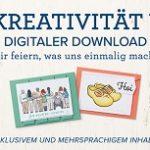 """GRATIS: Digitaler Download """"Durch Kreativität vereint"""""""